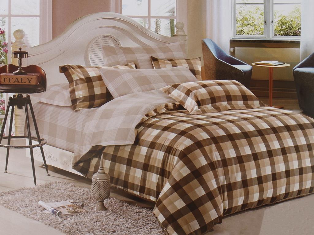 все цены на Постельное белье Cleo Satin Lux 15/373-SL Комплект 1.5 спальный Сатин онлайн