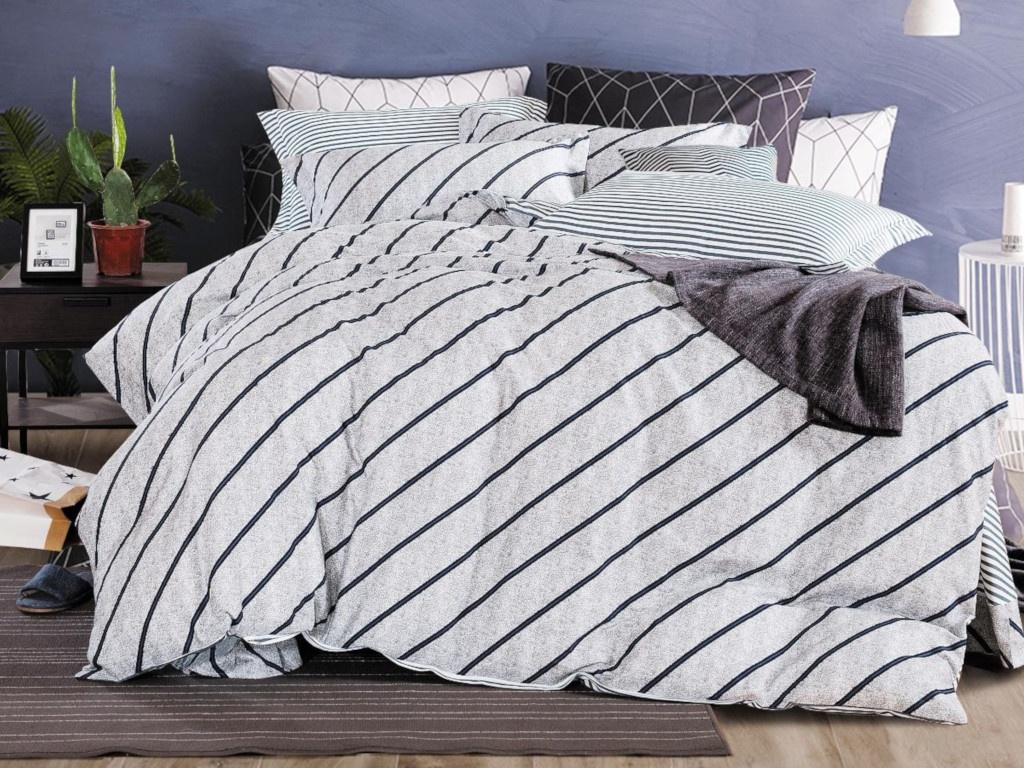 все цены на Постельное белье Cleo Satin Lux 15/374-SL Комплект 1.5 спальный Сатин онлайн