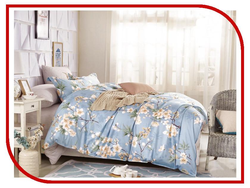 Постельное белье Cleo Satin Lux 31/224-SL Комплект Евро Сатин постельное белье экзотика кензо комплект евро сатин