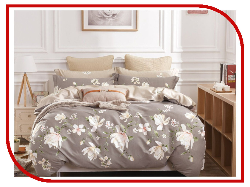 Постельное белье Cleo Satin Lux 31/292-SL Комплект Евро Сатин постельное белье kazanov a пенелопа евро стандарт