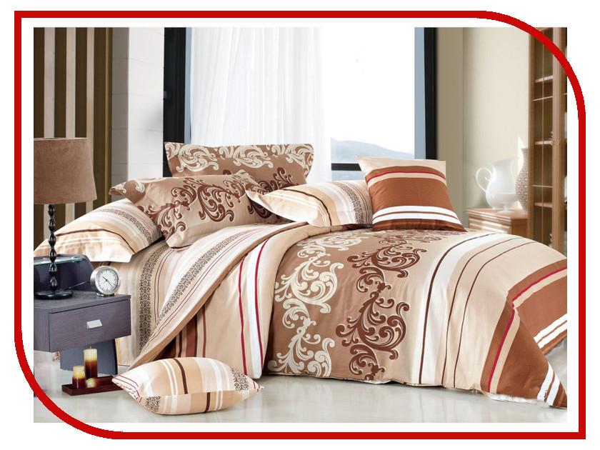 Постельное белье Cleo Satin Lux 31/302-SL Комплект Евро Сатин постельное белье kazanov a пенелопа евро стандарт