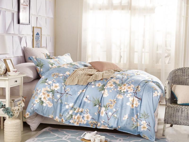 Постельное белье Cleo Satin Lux 41/224-SL Комплект Дуэт Сатин