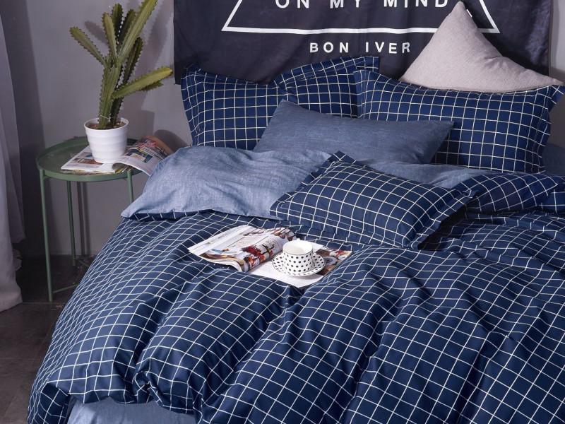 цена на Постельное белье Cleo Satin Lux 41/368-SL Комплект Дуэт Сатин