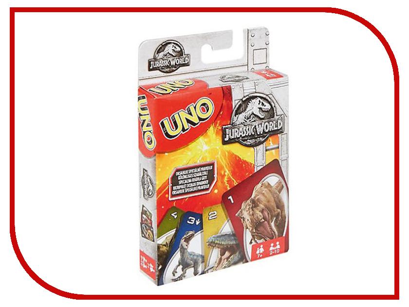 Настольная игра Mattel Uno Парк Юрского периода FLK66 mattel настольная игра mattel games uno уно парк юрского периода