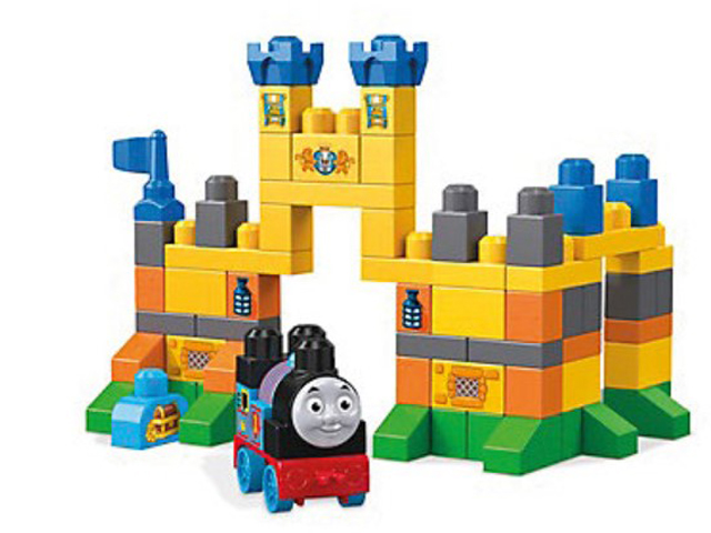 Конструктор Mega Bloks Thomas and Friends FVJ82 Замок Улфстэд
