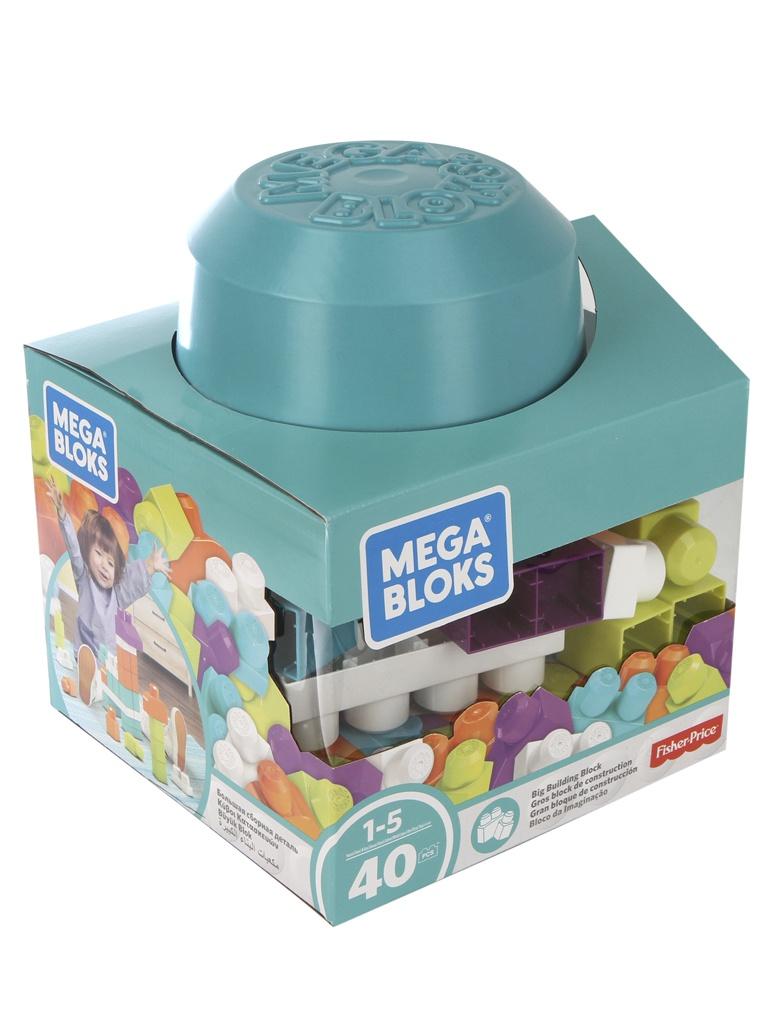 Конструктор Mattel Fisher-Price Mega Bloks Блоки для развития воображения 40дет. FRX19