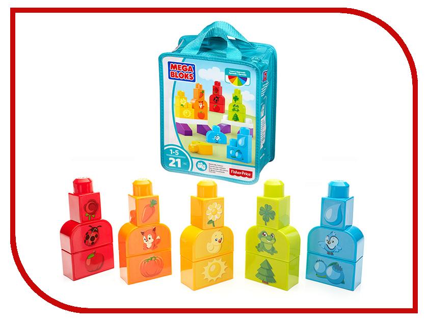 Купить Конструктор Mattel Fisher-Price Mega Bloks Изучаем цвета DXH33