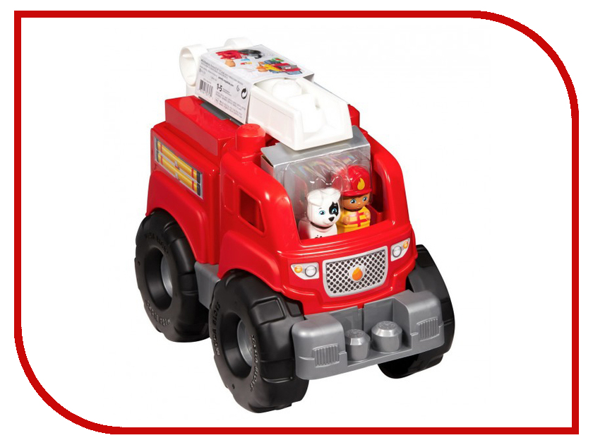 Купить Игрушка Mattel Fisher-Price Mega Bloks Пожарная машина DXH38
