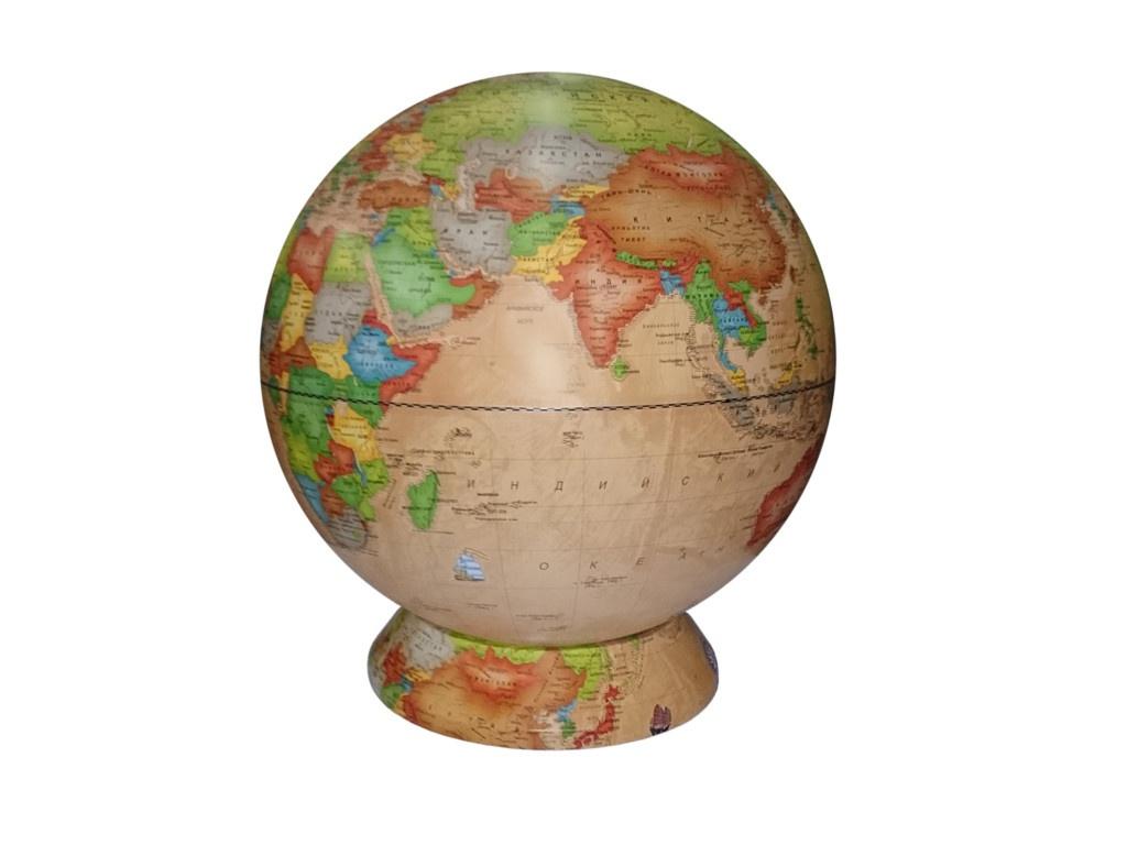 Глобус Глобусный Мир Ландшафтный 420mm рельефный 10376