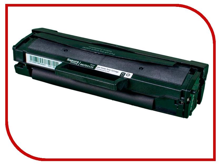 Картридж Sakura MLTD111S-N для Samsung Xpress M2020/Xpress M2020W/Xpress M2070/Xpress M2070W/Xpress M2070F/Xpress M2070FW samsung xpress c1860fw