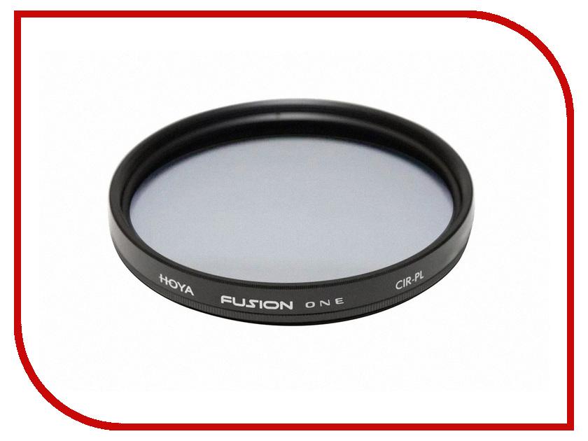 Светофильтр HOYA Fusion One PL-CIR 82mm 02406606872 светофильтр набор светофильтров hoya digital filter kit 82mm uv c hmc multi pl cir ndx8