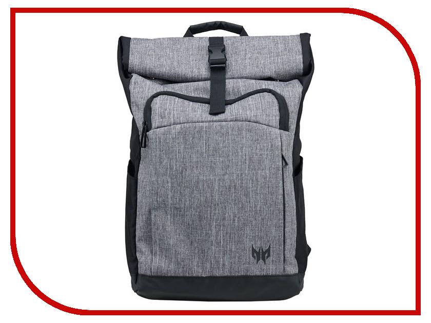 Рюкзак Acer 15.6-inch Predator Rolltop Jr. Grey NP.BAG1A.292 рюкзак 17 acer predator gaming черный синий [np bag1a 288]