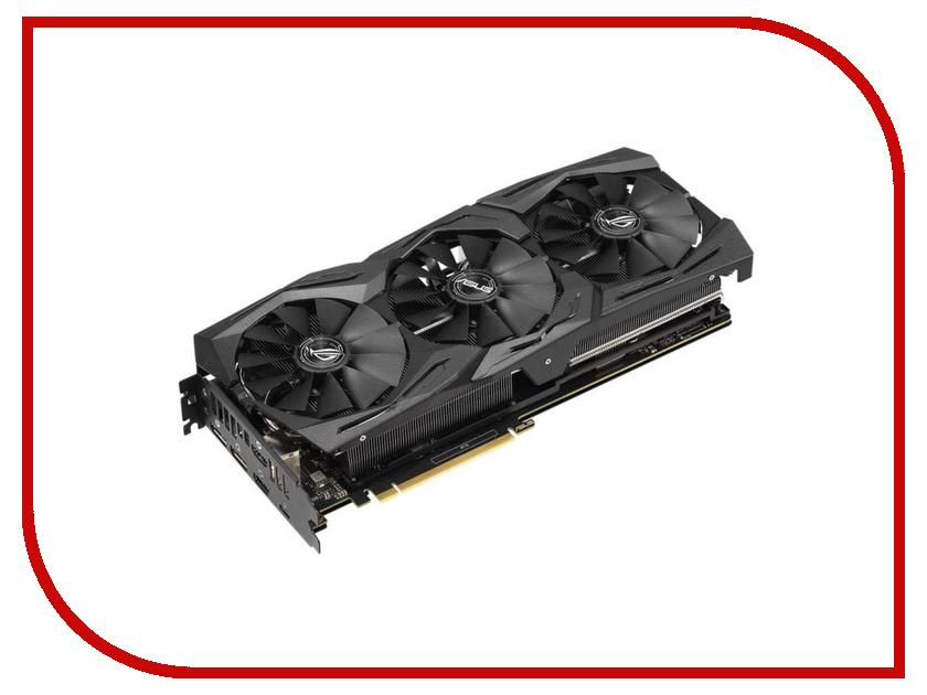 Видеокарта ASUS GeForce RTX 2070 1410Mhz PCI-E 3.0 8192Mb 14000Mhz 256 bit USB-C 2xDP 2xHDMI HDCP ROG-STRIX-RTX2070-A8G-GAMING