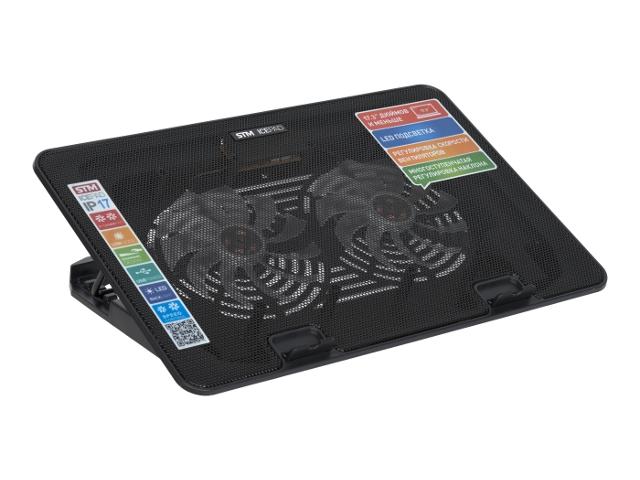 купить Аксессуар STM Laptop Cooling IP17 Black STA-IP17 по цене 1510 рублей