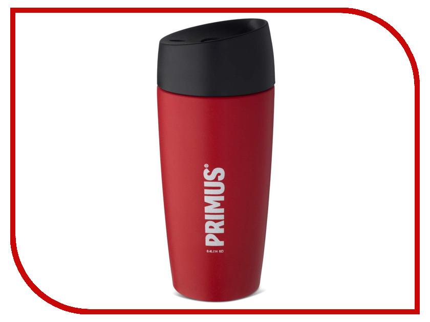 Термокружка Primus Vacuum Commuter 400ml Barn Red 741021