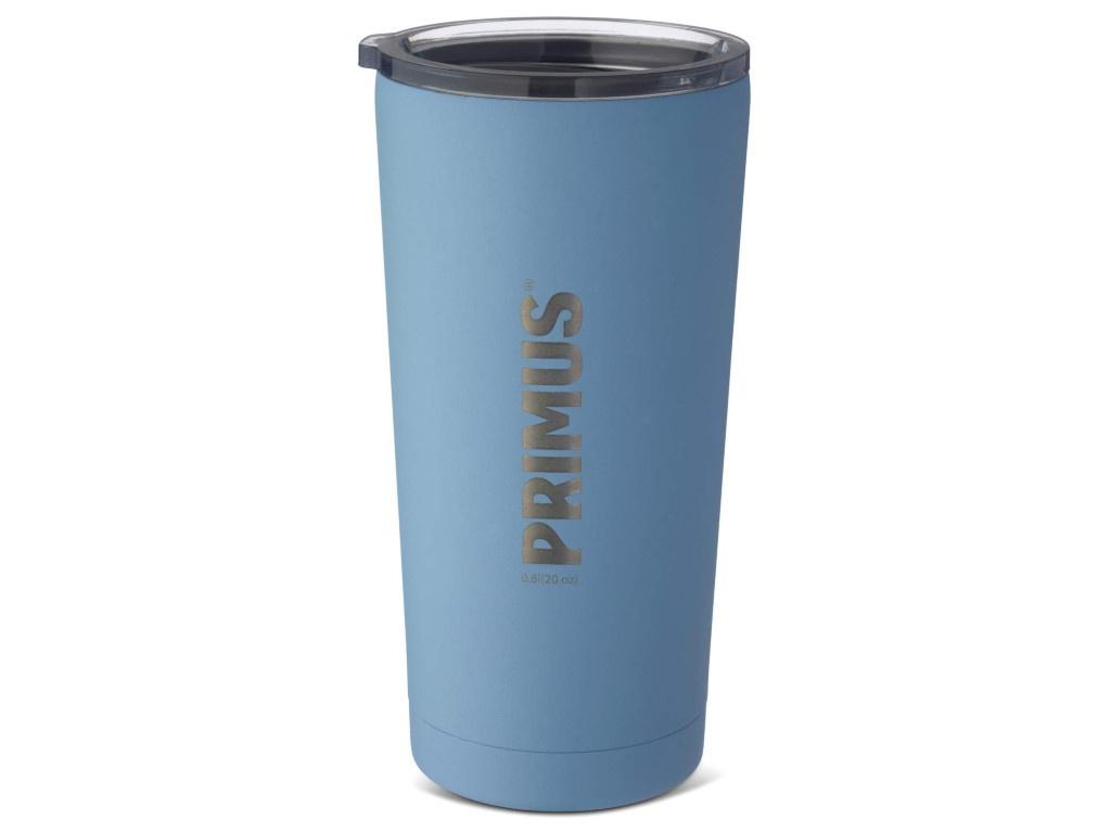 Термокружка Primus Vacuum Tumbler 600ml Blue 740792 термокружка primus commuter mug цвет оранжевый 400 мл