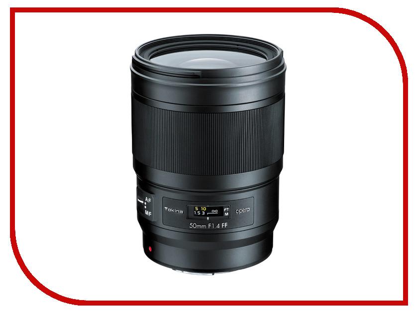 Фото - Объектив Tokina Nikon Opera 50mm F1.4 FF meike fc 100 for nikon canon fc 100 macro ring flash light nikon d7100 d7000 d5200 d5100 d5000 d3200 d310