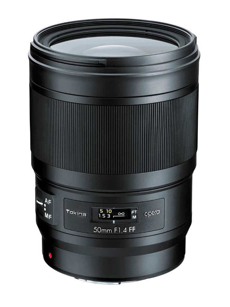 Объектив Tokina Nikon Opera 50mm F1.4 FF
