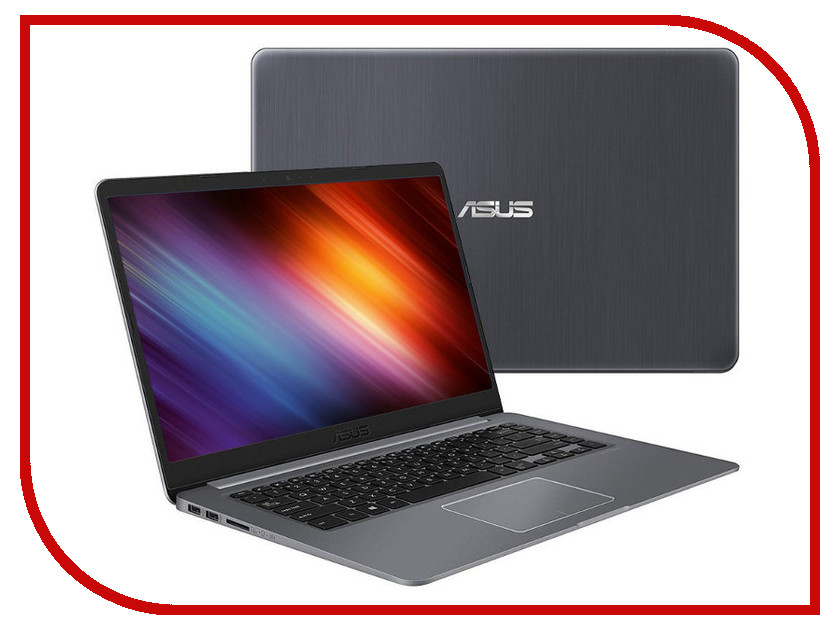 Ноутбук ASUS VivoBook S510UF-BQ606 90NB0IK5-M10780 (Intel Core i3-8130U 2.2 GHz/6144Mb/1000Gb/Intel HD Graphics/Wi-Fi/Bluetooth/Cam/15.6/1920x1080/Endless)