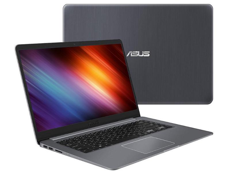 Ноутбук ASUS VivoBook S510UF-BQ606 90NB0IK5-M10780 (Intel Core i3-8130U 2.2 GHz/6144Mb/1000Gb/Intel HD Graphics/Wi-Fi/Bluetooth/Cam/15.6/1920x1080/Endless)