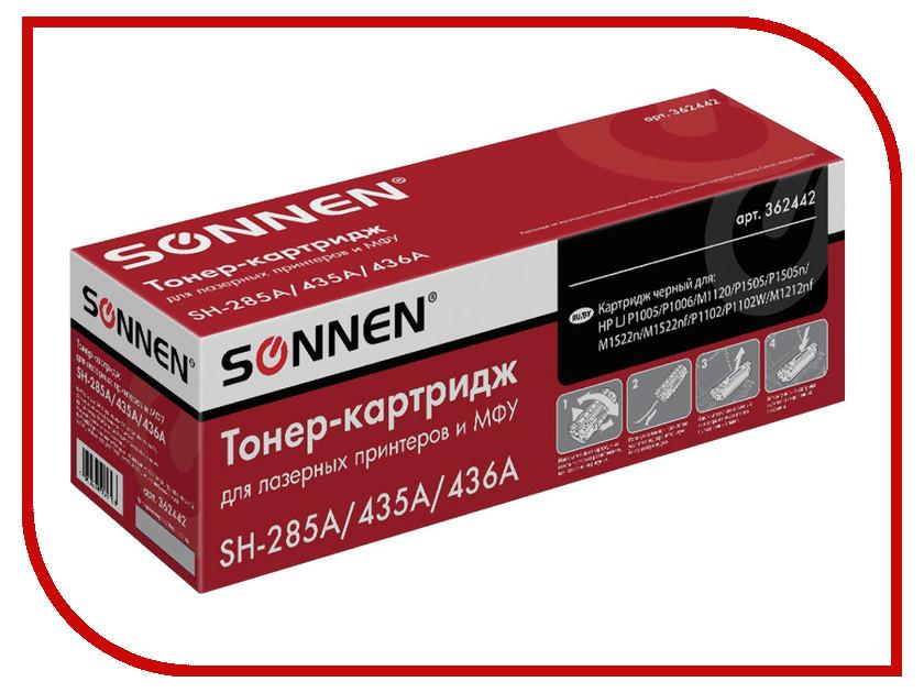 Картридж Sonnen для LJ P1002/1504/1102/M1212 362442