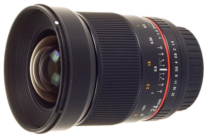 Объектив Samyang Sony/Minolta MF 24 mm F/1.4<br>