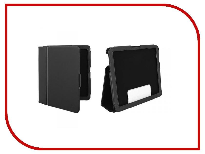 Аксессуар Чехол for PocketBook A10 Tuff-Luv Type-View H3-13 нат. кожа Black