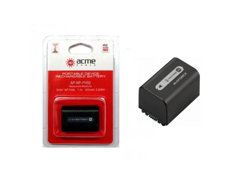 Аккумулятор AcmePower NP-FH50