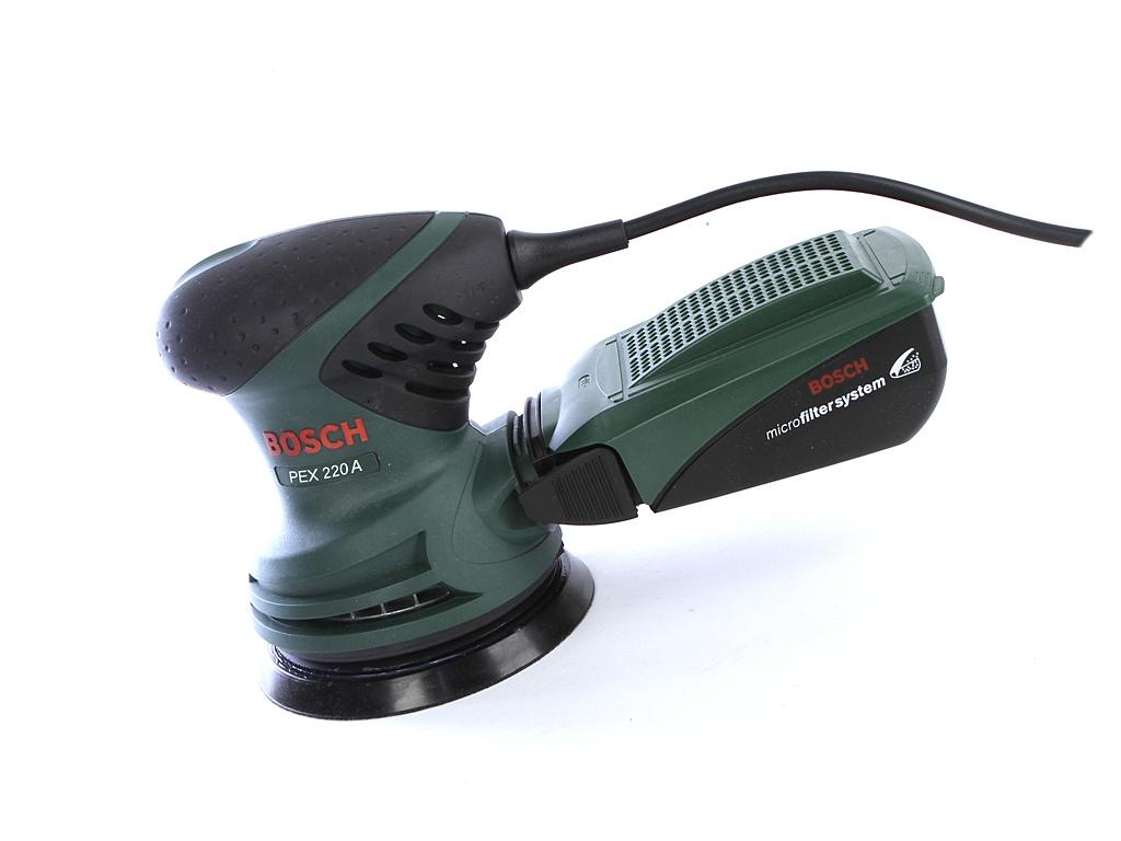 Шлифовальная машина Bosch PEX 220 A
