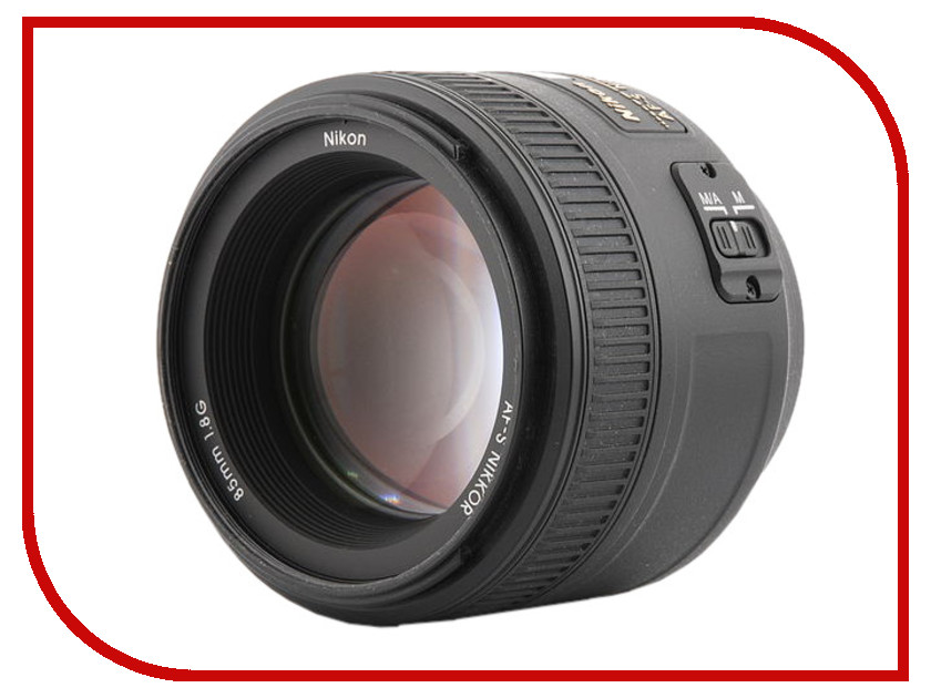 Объектив Nikon 85mm f / 1.8G AF-S