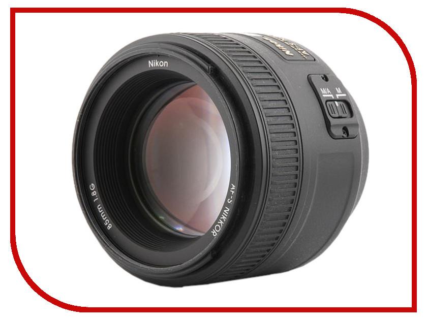 Объектив Nikon 85mm f/1.8G AF-S Nikkor цена