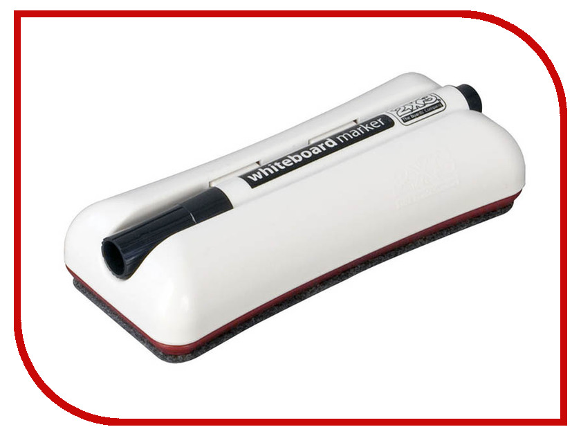 Маркер Стиратель магнитный для магнитно-маркерных досок + маркер 2x3 Duo AS125 2x3 tsa96p3 90x60 см