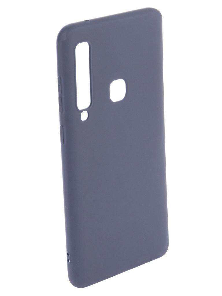 Аксессуар Чехол Zibelino для Samsung Galaxy A9 2018 A920 Soft Matte Dark Blue ZSM-SAM-A920-DBLU аксессуар чехол книжка для samsung galaxy a9 2018 a920 gurdini premium с силиконом на магните champagne 907592