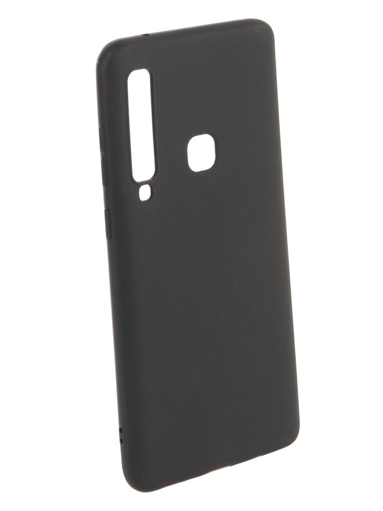 Аксессуар Чехол Zibelino для Samsung Galaxy A9 2018 A920 Soft Matte Black ZSM-SAM-A920-BLK аксессуар чехол книжка для samsung galaxy a9 2018 a920 gurdini premium с силиконом на магните champagne 907592