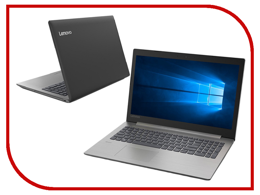 Ноутбук Lenovo IdeaPad 330-15IKBR Black 81DE01E1RU (Intel Core i3-7020U 2.3 GHz/4096Mb/500Gb/AMD Radeon 530 2048Mb/Wi-Fi/Bluetooth/Cam/15.6/1366x768/Windows 10 Home 64-bit)