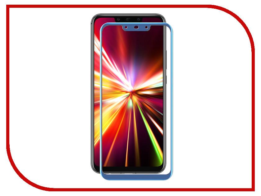 Аксессуар Защитное стекло для Huawei Mate 20 Lite Zibelino TG 5D Blue ZTG-5D-HUA-M20LT-BLU аксессуар zibelino для huawei y6 2018 защитное стекло zibelino tg 0 33mm 2 5d ztg hua y6 2018