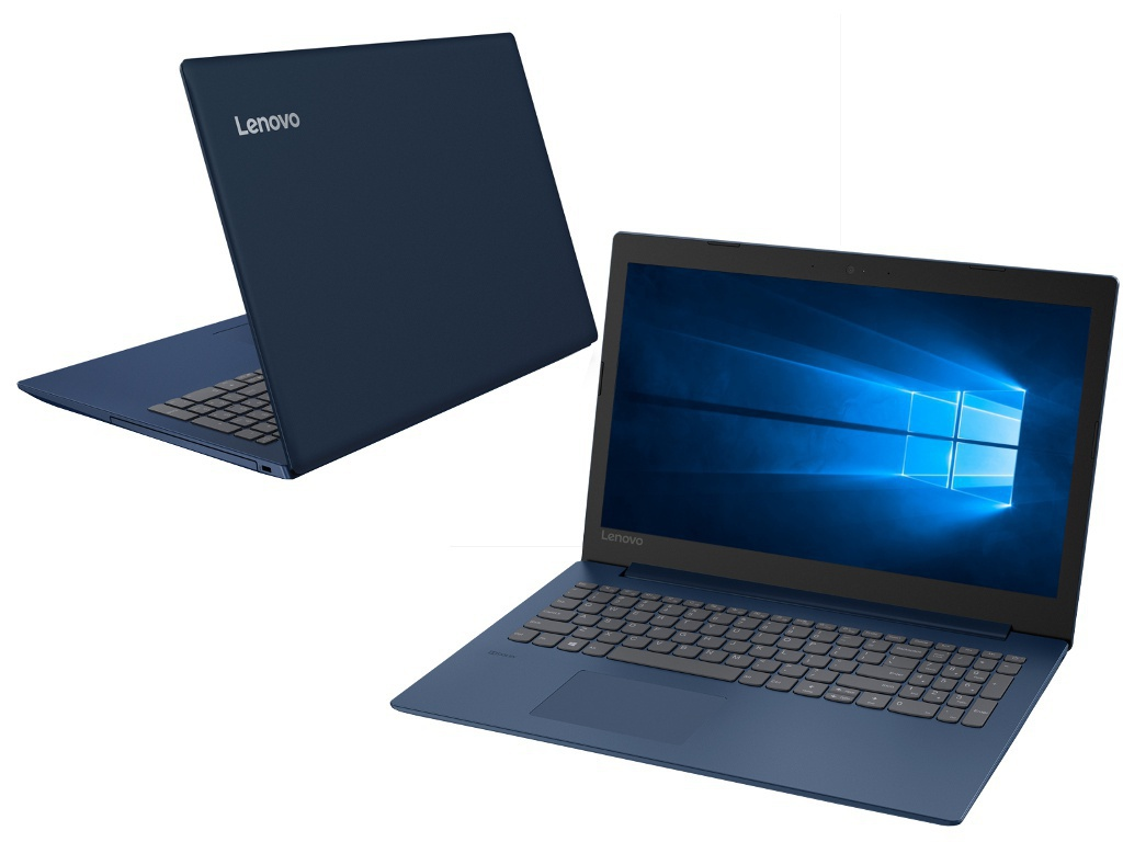 Ноутбук Lenovo IdeaPad 330-15IKBR Dark Blue 81DE01TLRU (Intel Core i5-8250U 1.6 GHz/8192Mb/1000Gb+128Gb SSD/nVidia GeForce MX150 2048Mb/Wi-Fi/Bluetooth/Cam/15.6/1920x1080/Windows 10 Home 64-bit)