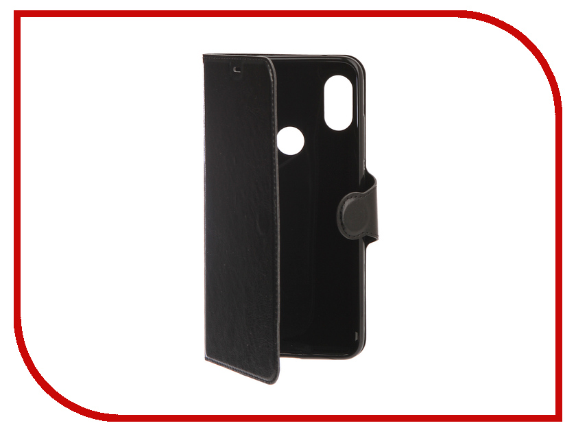 Аксессуар Чехол для Xiaomi Redmi Note 6 Pro Red Line Book Type Black УТ000016741 чехол книжка red line book type для xiaomi redmi 3 3s 3 pro черный