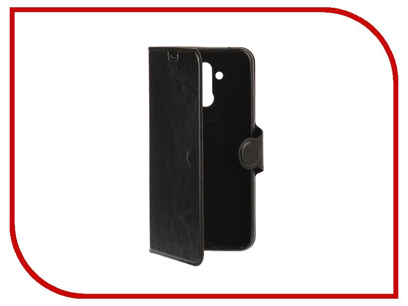 Аксессуар Чехол для Huawei Mate 20 Lite Red Line Book Type Black УТ000016745 аксессуар чехол для huawei p smart enjoy 7s red line book type blue ут000014550