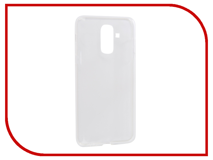 все цены на Аксессуар Чехол для Samsung Galaxy J8 2018 iBox Crystal Silicone Transparent УТ000015640