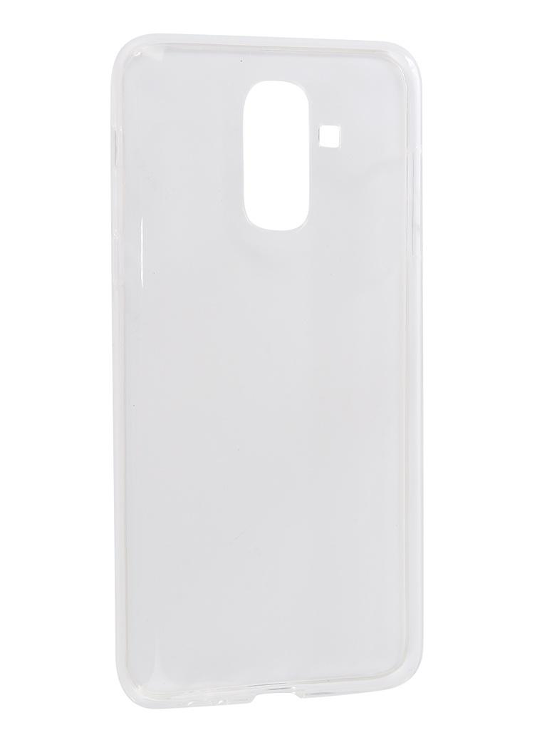 Аксессуар Чехол iBox для Samsung Galaxy J8 2018 Crystal Silicone Transparent УТ000015640