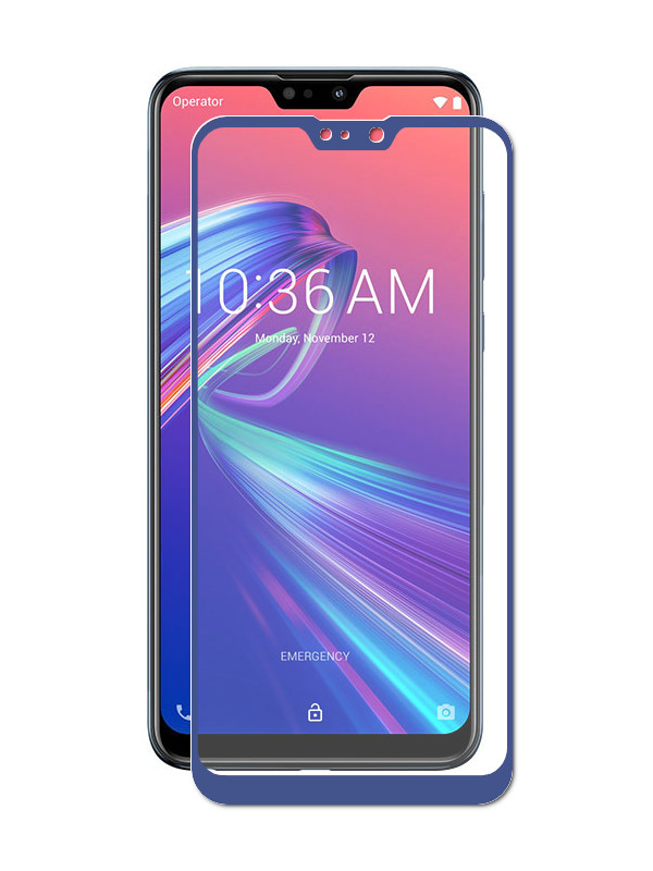 Аксессуар Защитный экран ASUS ZenFone Max Pro M2 ZB631KL Red Line Full Screen Tempered Glass Glue Blue УТ000016812