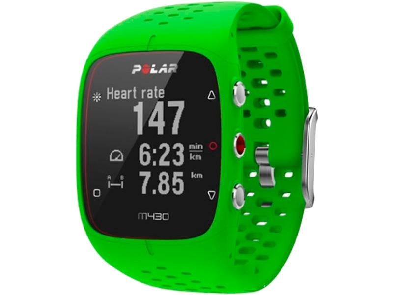 Часы Polar M430 Green цена в Москве и Питере