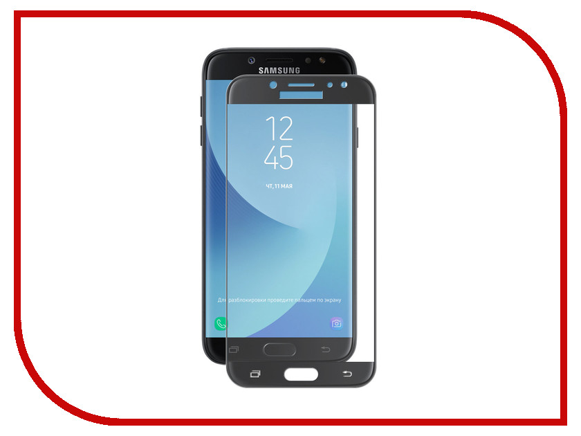 Аксессуар Защитное стекло для Samsung Galaxy J7 2017 J730F Svekla Full Glue Black ZS-SVSGJ730F-FGBL аксессуар защитное стекло для huawei honor 10 svekla full screen black zs svhwh10 fsbl
