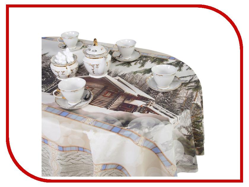 Скатерть Этель Зимний лес 145х300cm 2690182 цена