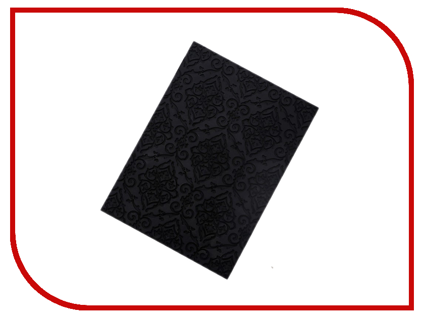 Коврик текстурный Доляна 24.5х18cm Black 2389466 дождеватель доляна 1500939