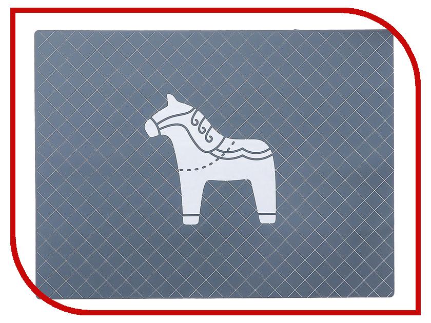 Коврик Доляна Лошадь Grey 3624940 дождеватель доляна 1006611