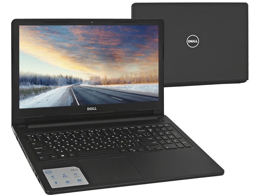 Ноутбук Dell Vostro 3578 3578-5987 (Intel Core i3-7020U 2.3 GHz/4096Mb/1000Gb/DVD-RW/AMD Radeon 520 2048Mb/Wi-Fi/Bluetooth/Cam/15.6/1366x768/Linux)