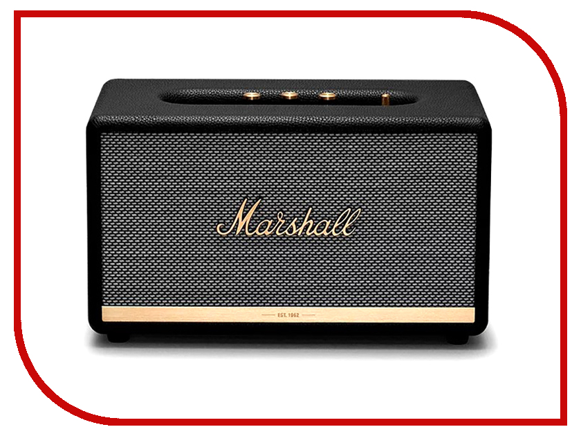 Колонка Marshall Stanmore II Black колонка marshall stanmore bluetooth brown