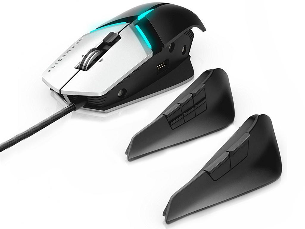 Мышь Dell AW958 Alienware Elite Gaming Grey-Black 570-AARG